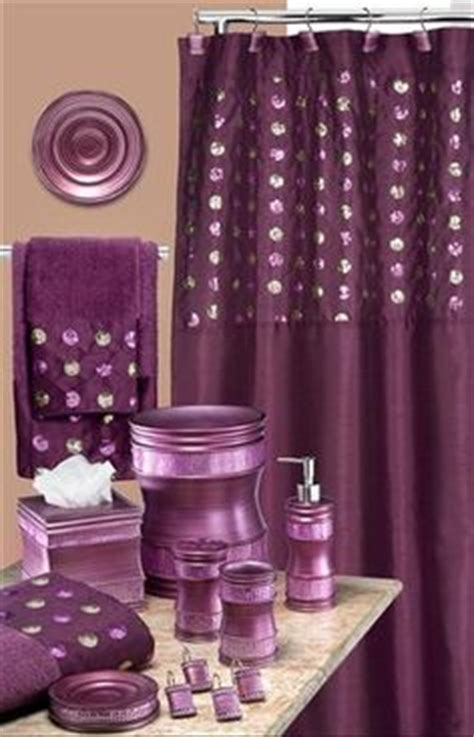 mauve bathroom accessories 1000 ideas about purple shower curtains on pinterest