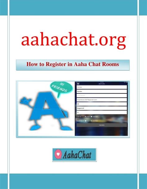 Chat Room Presenter by Ppt How To Register In Aaha Chat Rooms Aahachat Org