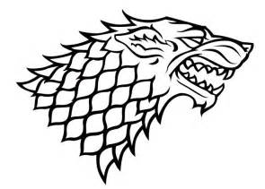 25 best ideas about house stark sigil on