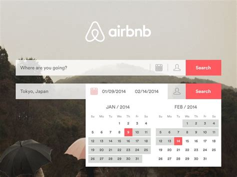 airbnb datepicker 152 best images about ui ux on pinterest