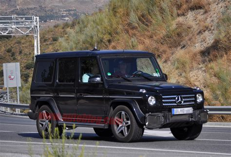 Jeep Mercy Amg Updated Mercedes G55 Amg Spotted Autoblog