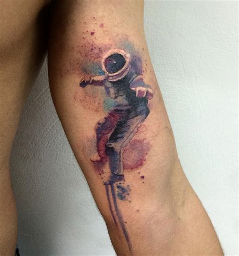 spaceman best tattoo design ideas