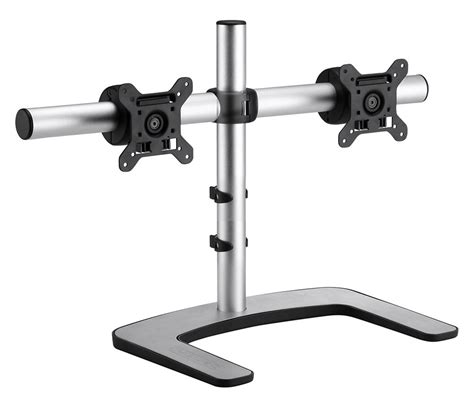 Dual Monitor Freestanding Desk Mount Hostgarcia Tyke Supply Dual Lcd Monitor Stand Desk Cl