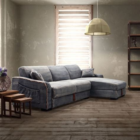 blue denim sectional brand blue denim sectional sleeper sofa modern sleeper