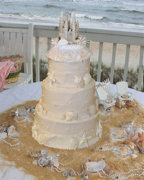 Sand Castle Wedding cake    Recipes   Pinterest   Sands