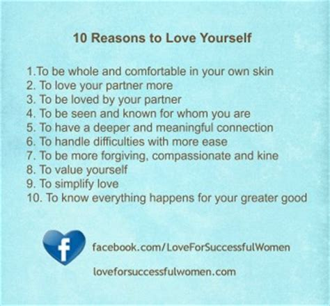 10 Reasons Why Being A Is Great by 10 Reasons To Yourself Completely For