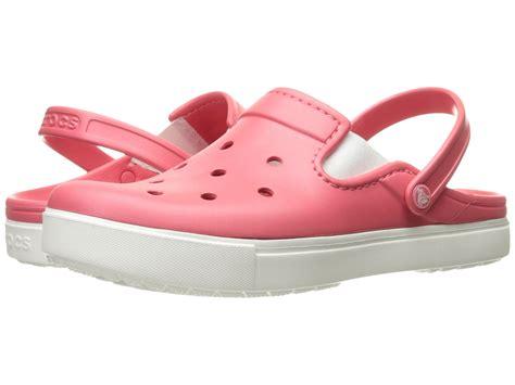 crocs citilane clog coral white zappos free shipping