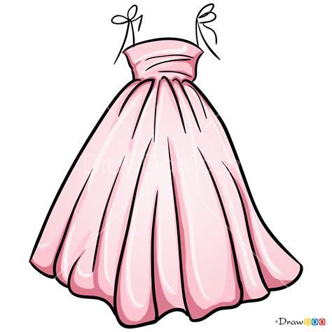 draw cute dress dolls dress