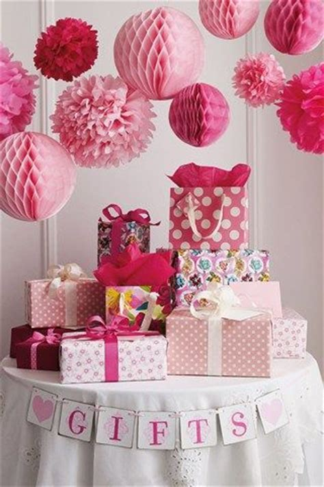 Decorating Ideas For Baby Shower Gift Table 25 Best Ideas About Baby Shower Decorations On