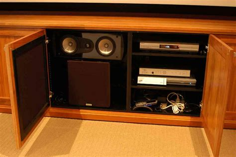 home theater equipment cabinet decor ideasdecor ideas