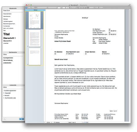Formellen Brief Beispiel normbrief nach din 676 5008 pagesvorlagen de