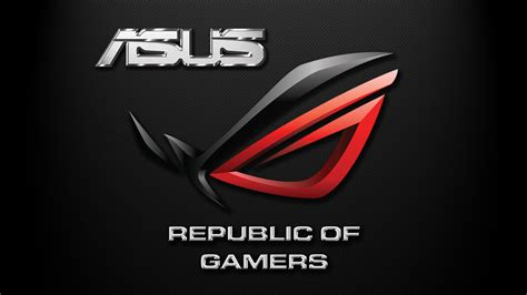 asus rog republic of gamers carbon fiber by pelu85 on wallpaper competition vote for your favorite republic