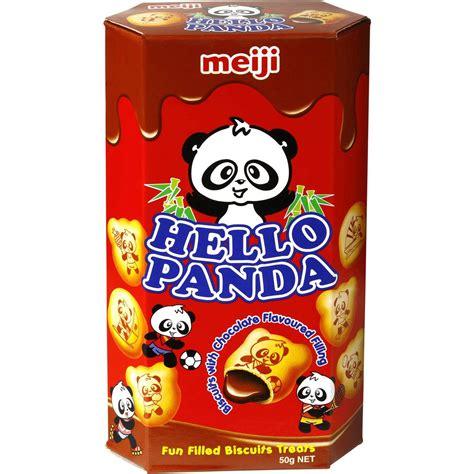 Meiji Hello Panda Biscuit meiji biscuit hello panda snacks chocolate 50g woolworths