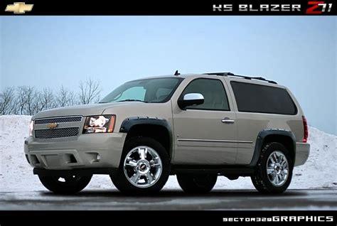 Chevrolet New Blazer The New Chevy Blazer Concept Autos Post