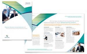 brochure design templates for education business brochure template design