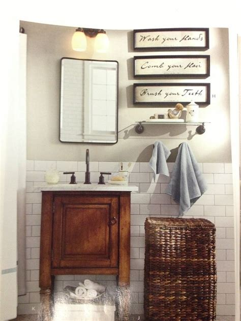 pottery barn bathroom images pottery barn bath interior design pinterest