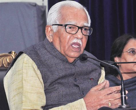 Ram Naik up governor ram naik says mns chief s is a convent student indiatoday