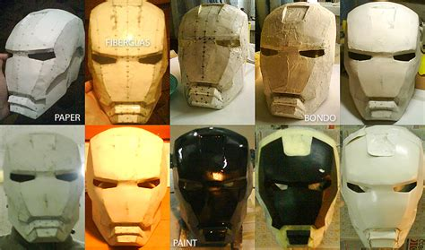 Iron Mask Papercraft - my iron helmet pt 1 by ellunare on deviantart