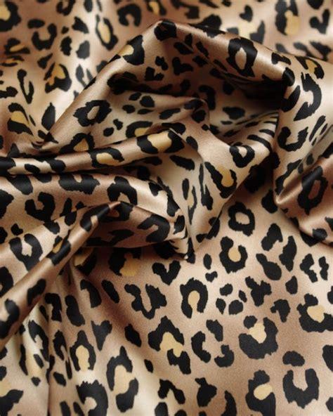 satin leopard animal print dress fabric asp leopard wine polyester stretch satin fabric leopard print truro fabrics
