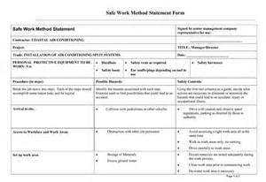safe work method statement template top statement of work deliverables wallpapers