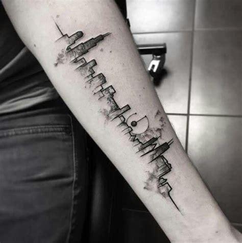 watercolor tattoos dublin city skyline tattoos tattoos