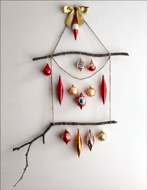 how to make an ornament display hanger loulou downtown