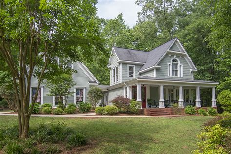 lake oconee homes for sale farmhouse on 2 ac