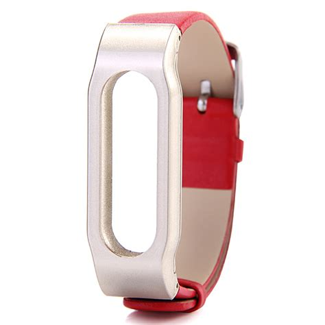 Xiaomi Miband 1s Replacement by Xiaomi Replacement Leather Wrist For Xiaomi Miband