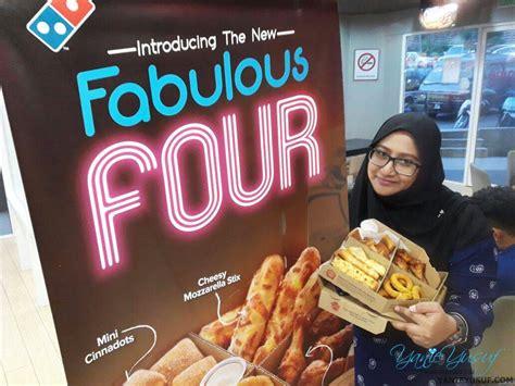 domino pizza asal dari mana fabulous four terbaru dari domino s pizza malaysiayanieyusuf