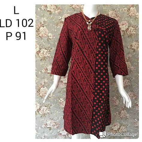 Blus Batik Tunik Batik Prada batik pekalongan by jesko batik kain batik pekalongan
