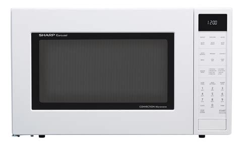Microwave Oven Merk Sharp smc1585bw 1 5 cu ft white convection microwave sharp