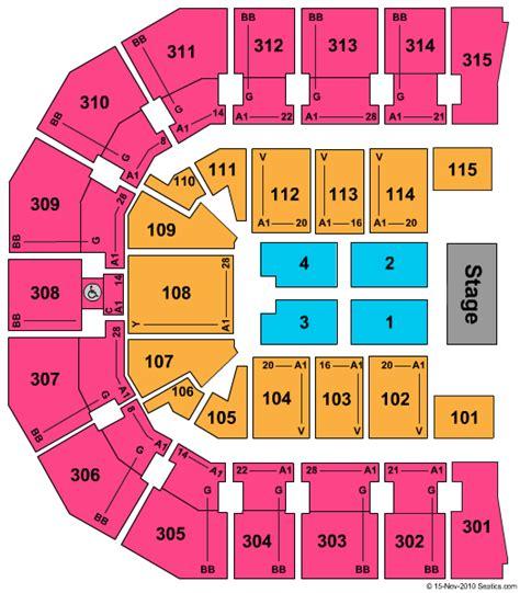 paul jones arena interactive seating chart paul jones arena tickets buy tickets