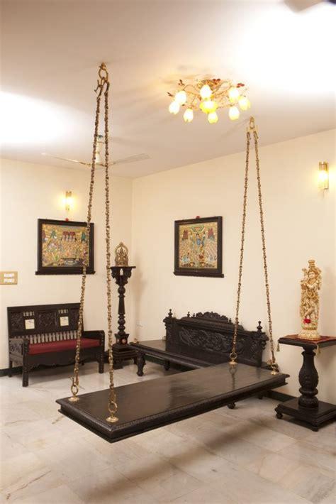 oonjal wooden swings  indian homes