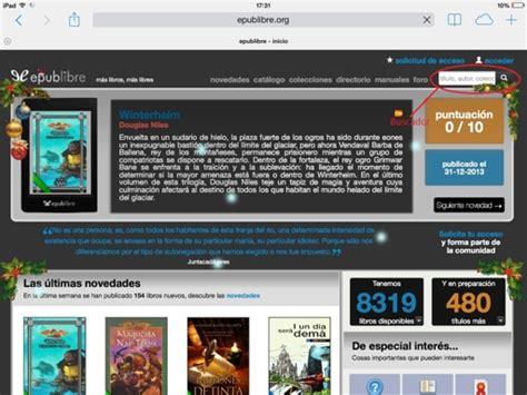 paginas para descargar libros gratis desde iphone descargar libros gratis en tu iphone ipad y ipod touch