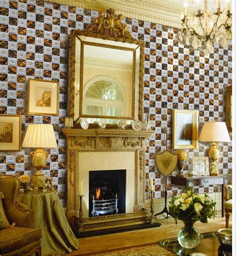 Tile Stickers For Fireplace by Ceramic Tile Backsplash Fireplace Mirror Porcelain Wall