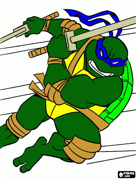 blue ninja turtle coloring page free coloring book pages from our users