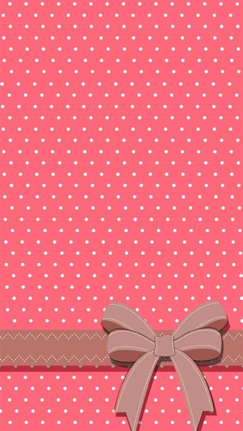 pink girly wallpaper iphone polka dot pink and white iphone wallpaper also good for