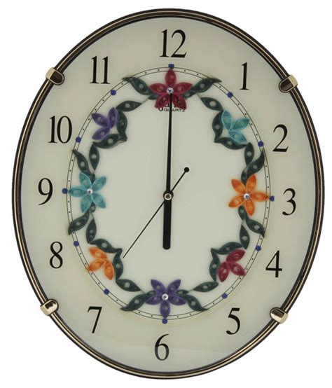 designer clocks ajanta designer handcrafted wall clock buy ajanta