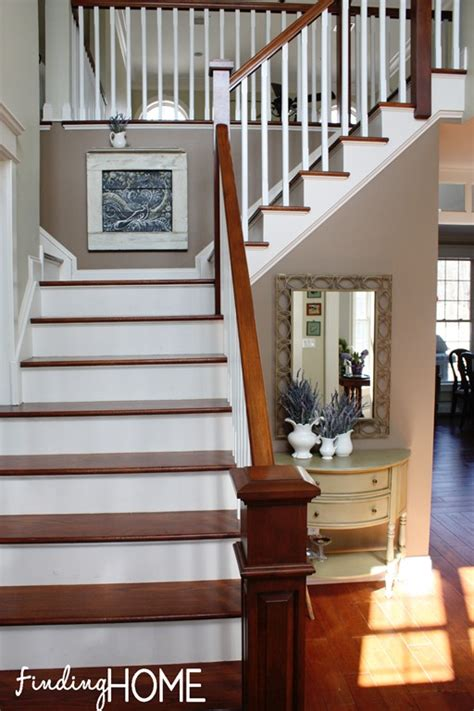 the evolution of our stairs and entry finding home farms