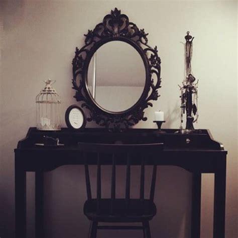 home accessory black vanity mirror home decor