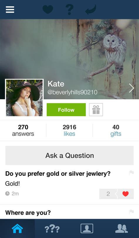 askfm profiles social q a app ask fm updated with support for video