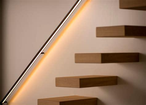 wandbeleuchtung treppe trapleuningen decotrap