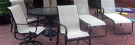 grandle patio furniture grandle replacement slings and patio furniture