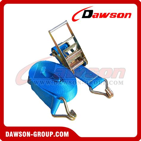 Tali Webbing Rachet 5t 10m 8000kg x 8m ratchet tie straps en12195 2 75mm 8ton polyester cargo lashing china