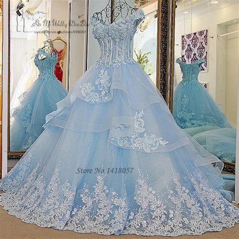 Brautkleider Hellblau by Kaufen Gro 223 Handel Hellblau Hochzeitskleid Aus China