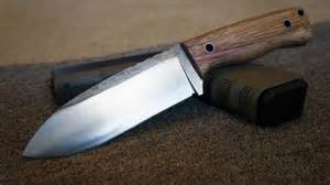 steel a knife knifemaking a 1084 high carbon steel bush craft