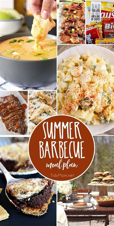 printable bbq recipes 634 best images about tidymom net easy recipes on