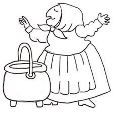 strega nona coloring page coloring home