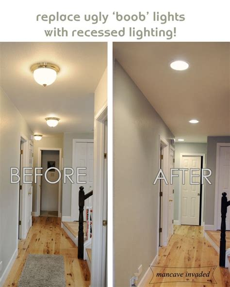 how to get the lighting for your home right best travel recessed lighting totally want to do this to get rid of