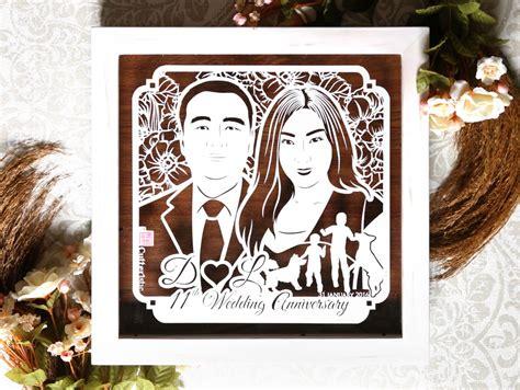 Kado Unik Ulang Tahun Anniversary Wedding Dll 11th d l cutteristic